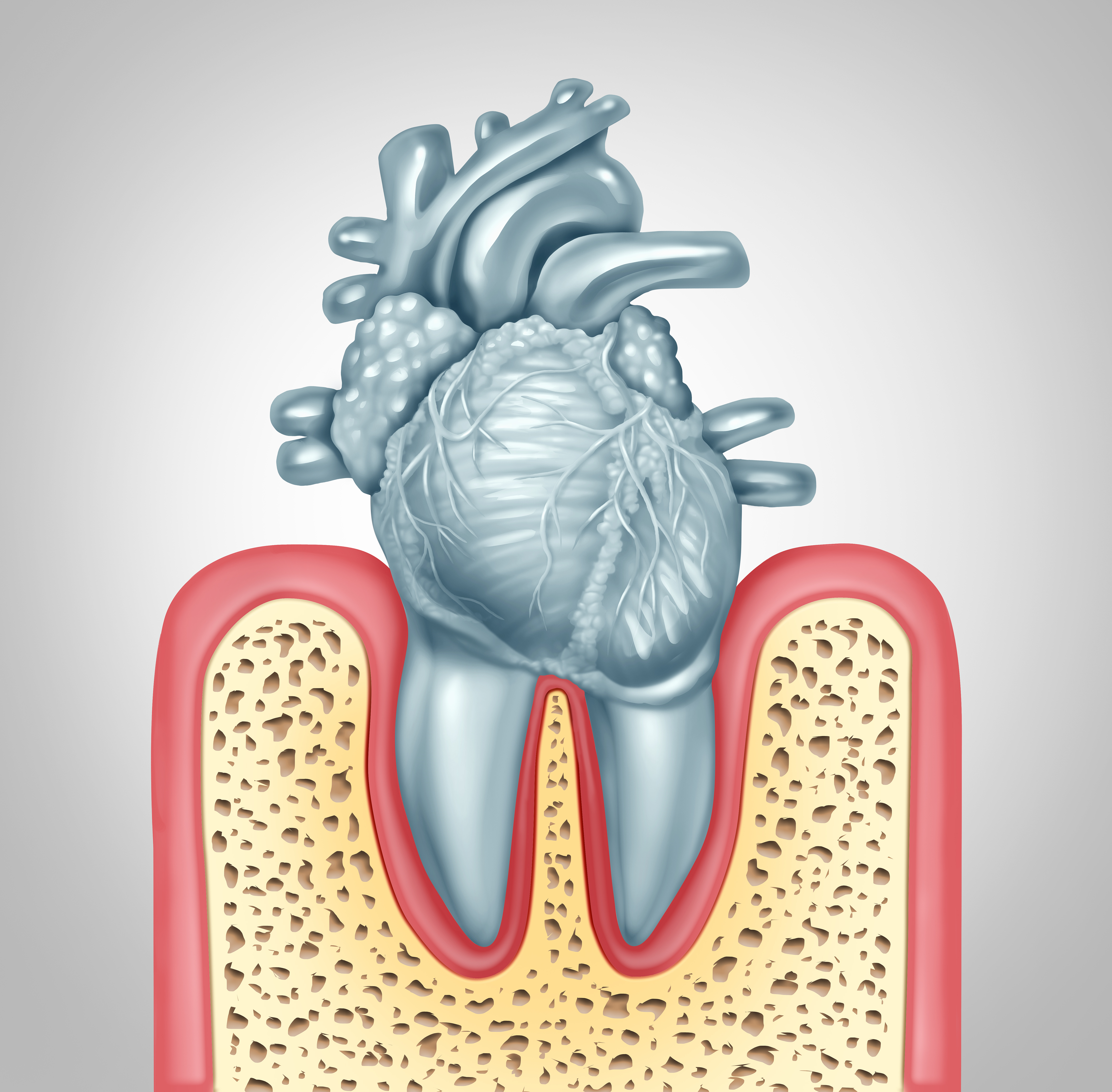 Is dental health related to heart diseases?